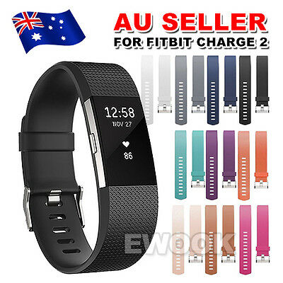 Replacement Silicone Gel Band Strap Bracelet Wristband for Fitbit Charge 2 Sport