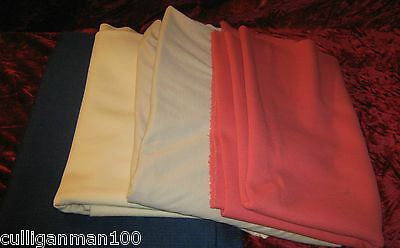 1 - lot of 4 - Polyester knit fabrics (2017-117)