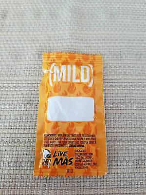 Blank Taco Bell Mild Sauce Packet