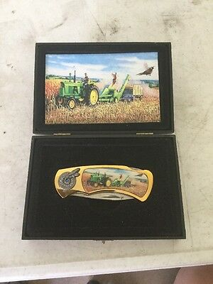 John Deere Collector's Knife in Display Box.