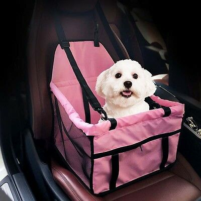 Carry Dog Car Seat Belt Booster Carrier Bags Case for Pet Cat Travel Safety Cute