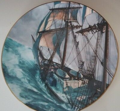 Royal Doulton Collectors Plate Rounding The Horn By John Stobart 1978