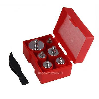 100g 50g 20g 10g 5g Grams Precision Calibration Scale Weights Set w/ Tweezers