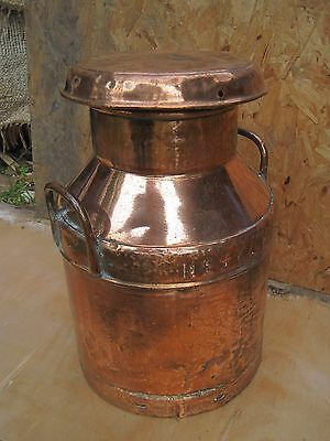 Antique Nestle Milk Churn. Copper.