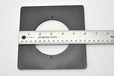"""Large Format 6""""x6"""" Lens board with Large Opening"""