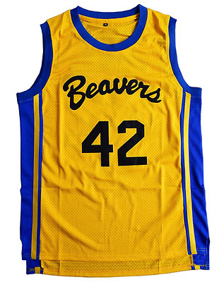 Teen Wolf Official Movie Jersey - Beacon Beavers #42 Scott Howard. HQ Stitched.