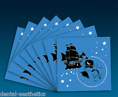 Pirate Tooth Fairy Envelopes (Set of 8) Childrens Kids Teeth Gift under Pillow