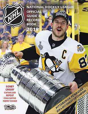 NHL Official Guide & Record Book 2018      NEW EDITION AVAILABLE SEPT.12, 2017!