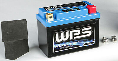 FeatherWeight Lithium Battery WPS HJB7BL-FP-IL - Motorcycle Applications