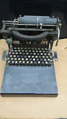 Antique Caligraph Typewriter with Wood cover  working 72 keys