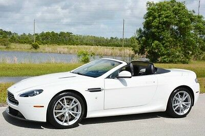 2012 Aston Martin Vantage S Convertible 2-Door 2012 VANTAGE V8 CONVERTIBLE - SPORTS PACK - NAVIGATION - NEW CLUTCH - FLORIDA