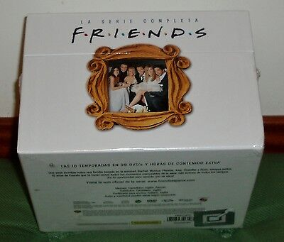 Friends Serie Completa 1-10 Temporadas-Nuevo New Sealed 39 Dvd (Sin Abrir) (R2)