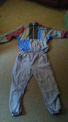 Mens Size Large Avait Windbreaker Suit Track Suit Vintage 90S Wind Breaker Suit