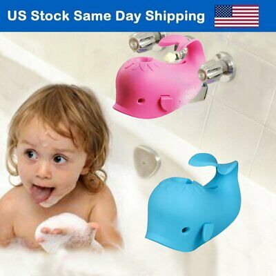 Baby Bathroom Spout Cover Safety Bathtub Silicone Faucet Guard Protector for Kid