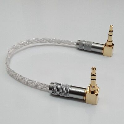 3.5mm Male to Male Stereo Audio Cable AUX For ipod MP3 phone Amp Amplifier