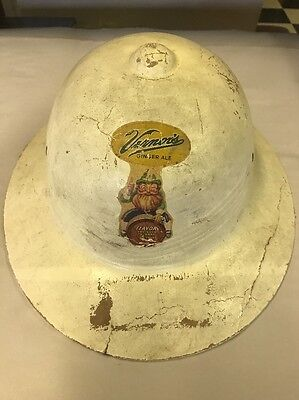 VINTAGE VERNORS GINGER ALE Hat SODA BOTTLE Pop Detroit Rare Htf