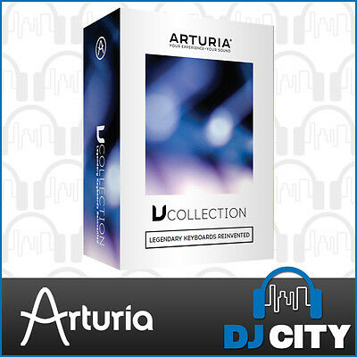 Arturia V Collection 5 Analog Software Synthesizer Bundle w/ 17 Included Titles