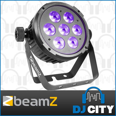Beamz BT280 RGBAW+UV LED Parcan High-Powered Hex Wash Effect Light 7x10W - NEW