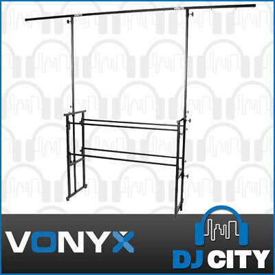 Vonyx Pro-Stand Complete DJ Stand Lighting Station w/ T-Bar Light stand - NEW