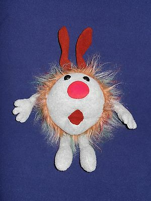 """Big Comfy Couch Fuzzy Wuzzy Mollys Dust Bunny Commonwealth 1995 11"""" Plush"""