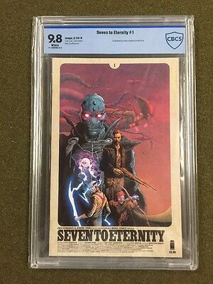 Seven to Eternity #1 1st Print CGC 9.8 Rick Remender Jerome Opena