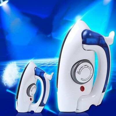 Portable Foldable Folding Handheld Compact Steam Travel Iron Temperature Control