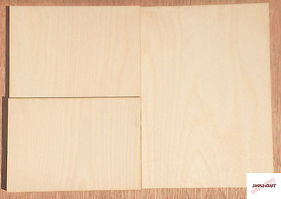 Birch Plywood Ply Premium Sheet A5 A4 A3 4,6,9,12mm Wood Board Sheets Pyrography