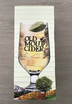 Single Old Mout PINT Cider Glass Gift Boxed Brand New 20oz 100% Genuine CE