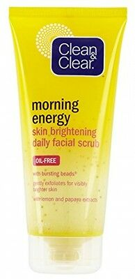 Clean And Clear Morning Energy Skin Brightening Daily Facial Scrub 150 Ml
