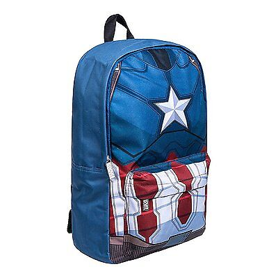 Marvel Captain America Torso Junior Backpack / School Bag / Rucksack