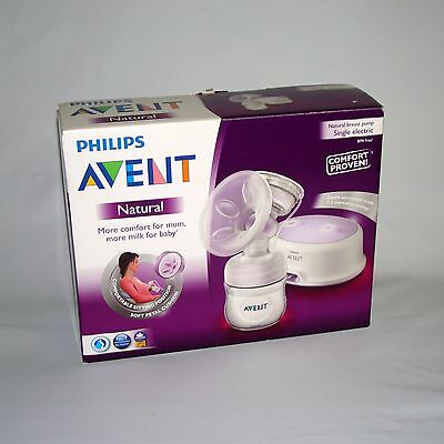 Philips Avent Natural Electric Breast Pump - Single - Boxed & Complete