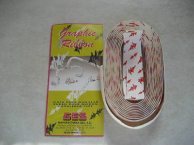 Guidoline Ribbon Blanche / Rouge / Guidoline Ribbon White / Red