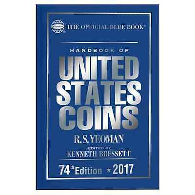 2017 Blue Book Of US Coins Hardcover Hard Cover Bluebook IN STOCK & SHIPPING