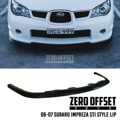 Zero Offset Subaru Sti Lip 06-07 Impreza (Hawk Eye)