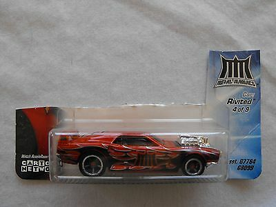 2005 Hot Wheels Acceleracers Metal Maniacs Rivited 4/9