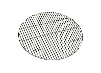 BBQ Cooking Grill 44.5cm-100% Stainless Steel-fits 47cm Kettle BBQs+Weber BBQs