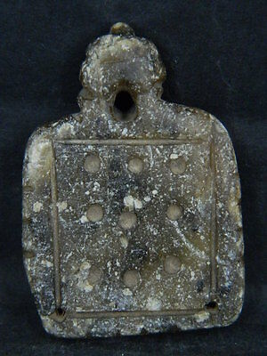 Ancient Stone Pendant Bactrian 300 BC  #BR7204