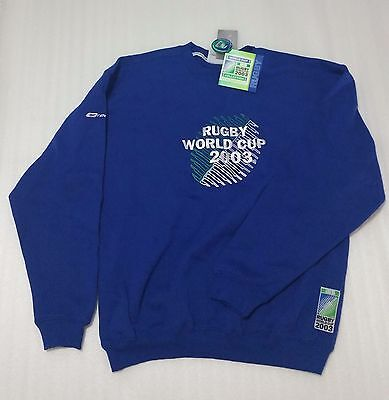Deadstock 2003 Reebok Rugby World Cup Sweatshirt