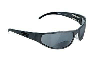 a76bf98259e NEW ICICLES Bagger Flat Bifocals Mirror Lens Sunglasses with Matte Black  Frame