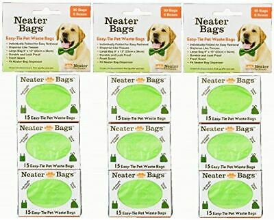 Neater Bags 270 Count Pack | Bag Dispenser Refills | Dog Waste Bag Tissue Style