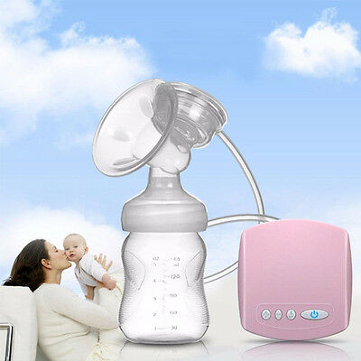 New Electric Breast pump Automatic sucked+Milk bottle USB interface Easy to use