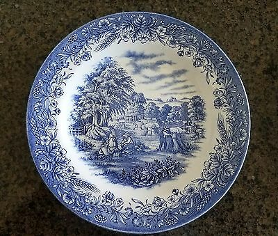 """Churchill Heritage Mint Ltd """"Harvest"""" Made In England Currier & Ives"""