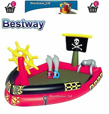 PIRATE Play POOL paddling swim - inflatable swimming Pool BW53041
