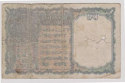 (N5-60) 1940 India 1 Rupee Bank note (space filler)