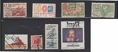 (U29-13) 1960-70s Mexico mix of 8 stamps valued to 1P