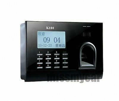 Fingerprint + RFID Card Attendance Time Clock With TCP/IP And PC Software