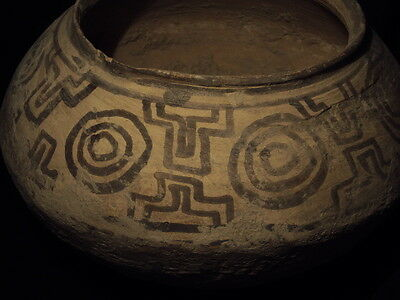 Ancient Large Size Teracotta Painted Pot Early Bronze Age C.3000 BC  #S661