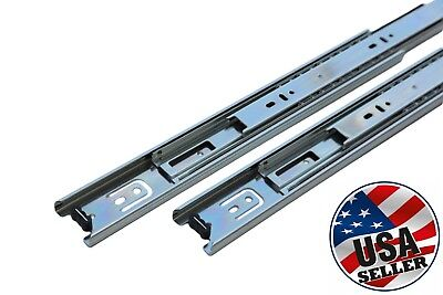 "Full Extension 100-lb Ball Bearing Drawer Slides 14""-22"""