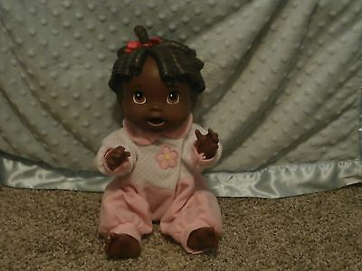 """2009 Hasbro Baby Alive """"all Gone"""" 13"""" Aa Doll"""