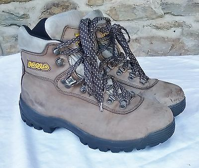 Asolo Women's US 9 EU 41 Hiking Trail Brown Leather High Top Boots SHOES LADIES